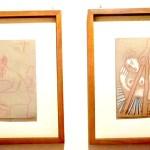 Пабло Пикассо, «Художник и его модель», 1970 г. 2