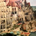 Вавилонская башня-Брейгель Ст.-Фрагмент1