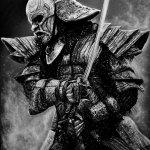 Fullmetall warrior, А3, графитовые карандаши, 2019 - Негода Евгения