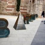 Барселона-городской пейзаж