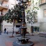 Дворики Барселоны, заказать картину