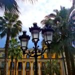Пленэр в Барселоне-Часть 1-Городской пейзаж -Королевская площадь