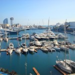 На берегу Средиземного моря-Бухта Барселоны