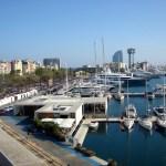 На берегу Средиземного моря-Набережная Барселоны