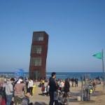 На берегу Средиземного моря-Пляж Барселонета