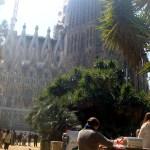 Пленэр в Барселоне-Саграда Фамилия -Инна Епишова