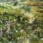 Vincent Van Gogh- Meadow in the Garden of the Hospital Saint-Paul (May 1890)- National Gallery, London