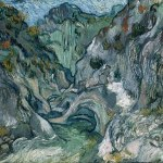 Vincent Van Gogh- The Peroulets Ravine (1889)-The Boston Museum of Fine Arts