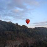Фестиваль воздушных шаров, вечер...