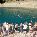 Купание в 12 град.водице-Зелёный каньон, Турция25..