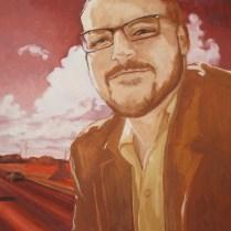 12x12 gauche on canvas, Fall 2010