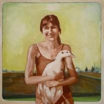 12x12 Gauche on Canvas, 2011