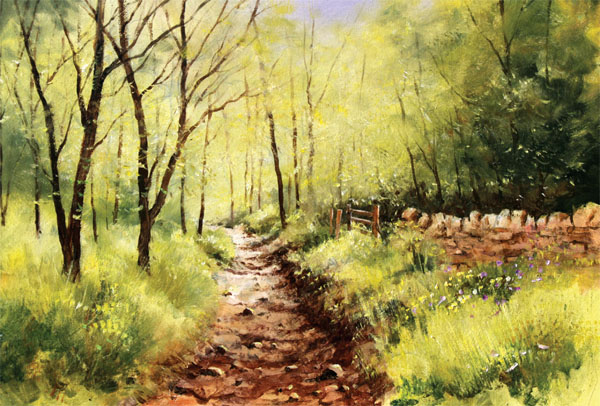 Step By Step Guide For Painting Woodland Scenes Painters
