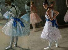 Copeland as Degas's Dancer