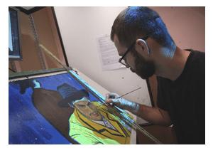 Loving Vincent movie painter 1