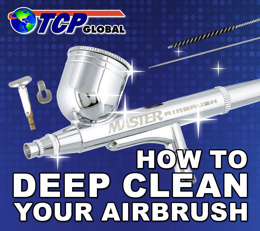 How to Deep Clean Your Airbrush [Video]