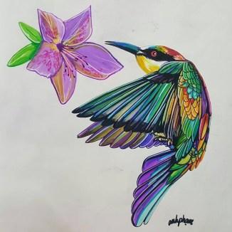 humming bird super markers