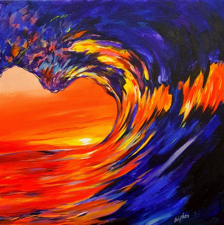 Sunset Barrel