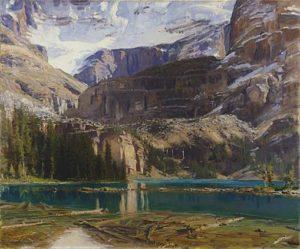 J-S-Sargent_Lake-O'Hara