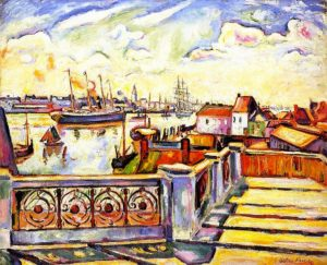 Othon-Frieze_The_Port_of_Anvers_1906