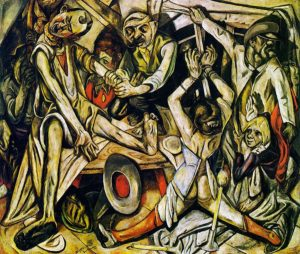 max-beckmann_the-night_1918-19
