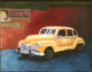 Susan-Rose-Slatkoff-yellow-car