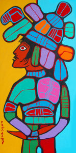 norval-morrisseau-shaman-painting