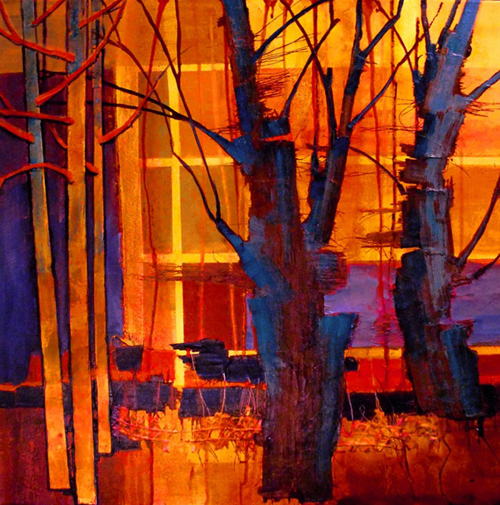 'Parkview 3 - Earth Light Series by Carol Nelson, Colorado, USA