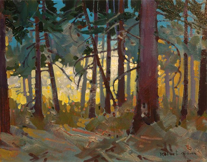 'Forest Spirit by Robert Genn (1936-2014), West Coast, Canada