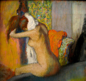 Edgar-Degas_after-the-bath-woman-drying-her-nape