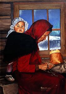 bernbrown-painting-motherchild
