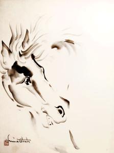 chiura-Obata_Horse
