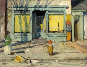 Lawren-Harris_Saturday-Morning_c.1920