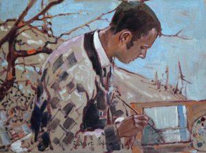 RG286-Myself-at-Work-1969-12x16IMG_5338