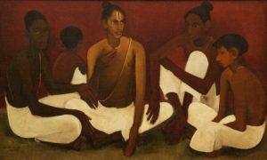 amrita-sher-gil_brahmacharis-_1937