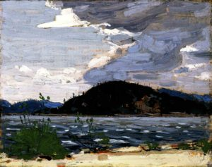 thomson_spring-canoe-lake_1916