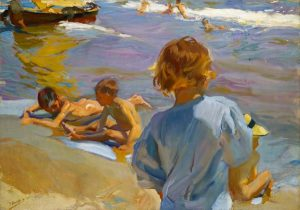 Joaquín-Sorolla_Children-on-the-beach-Valencia