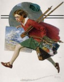 rockwell_girl-running-with-wet-canvas