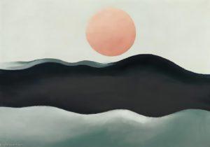 Georgia_O_keeffe-Sunset_long_island