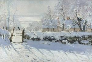 Claude-Monet_The-Magpie