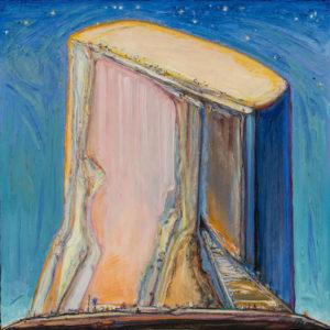 Night Mesa (2011–13), oil on canvas by Wayne Thiebaud
