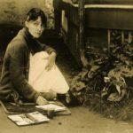 Georgia O'Keeffe at lake George (1918) by Alfred Stieglitz