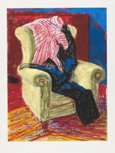 My Shirt and Trousers (2010) iPad drawing printed on paper, Edition of 25 94 x 71.1 cm David Hockney