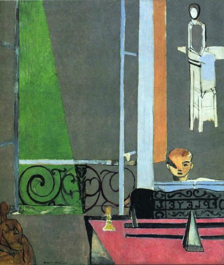 Matisse, The Piano Lesson, 1916, ft 1:2inx11ft 3:4in, oil on canvas