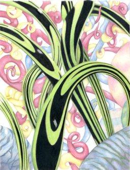 """Wormhole"" 8x10"" Colored Pencil on Bristol"