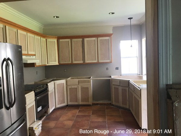 Working more Cabinets job 240