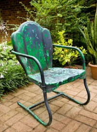 How To Refinish Outdoor Furniture Metal - painting metal ...