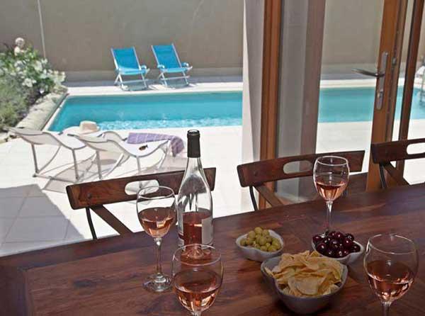 art retreat accommodation summer kitchen