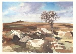 dartmoor simon roberts painting in france