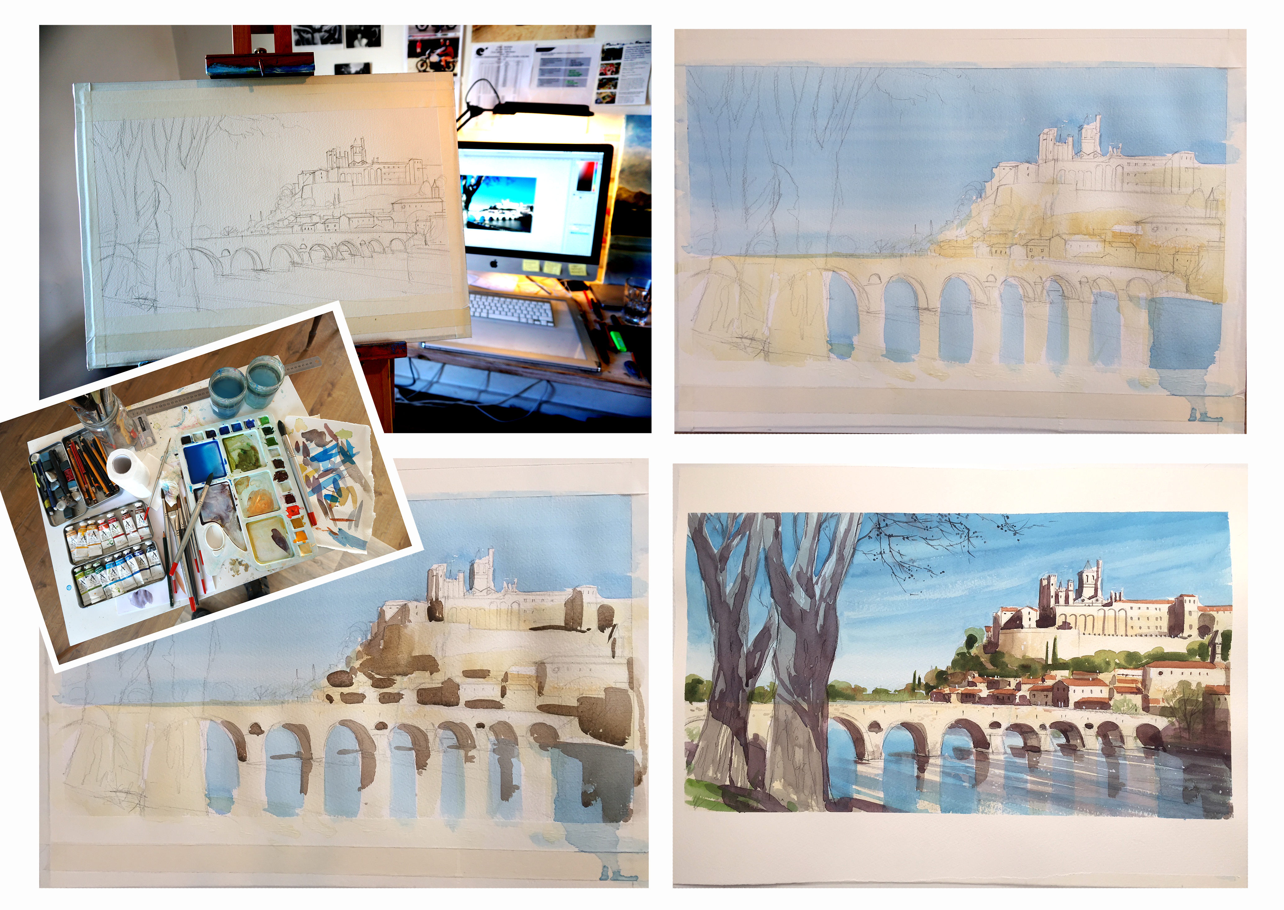 In And Out Beziers painting in france: béziers - a new painting location